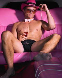 Мужчина - король после эротического массажа Киев